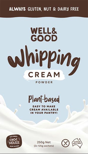 Well & Good Whipping Cream Powder 250g