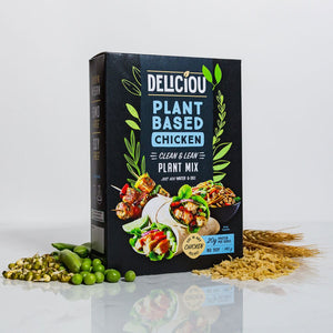 Deliciou Plant-based Chicken Mix 140g