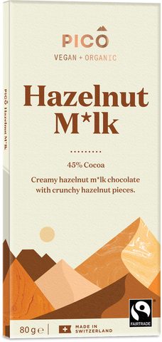 Pico Chocolate - Hazelnut Milk 80g