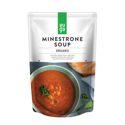 Auga Minestrone Soup 400g