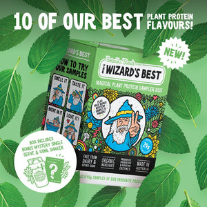 Botanika Blends The Wizard's Best Plant Protein Sampler Box