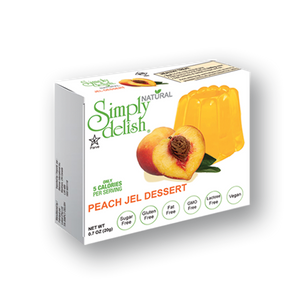 Simply Delish Sugar-free Jelly Mix - Peach 20g