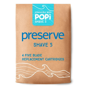 Preserve POPi Shave 5 Replacement Blades