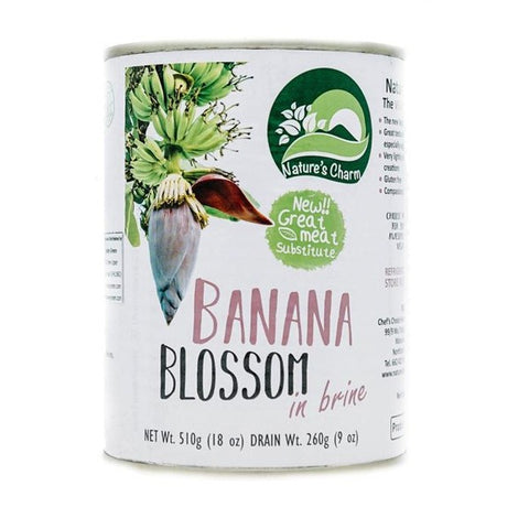 Natures Charm Banana Blossom in Brine 510g