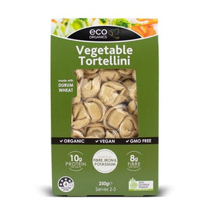 Eco Organics Pasta Tortellini Vegetable 250g