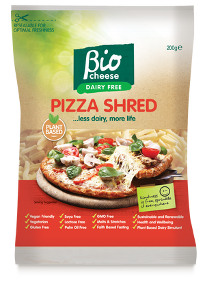 Bio Cheese Pizza Shreds 200g (cold)