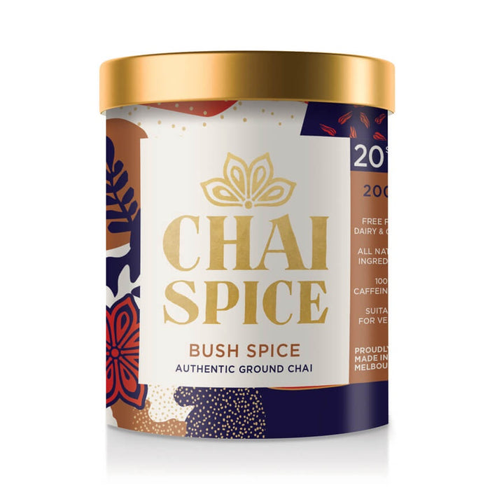 Chai Spice Ground Chai - Bush Blend 200g