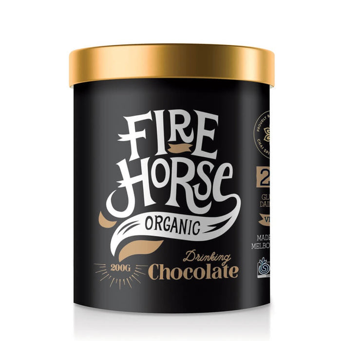 Fire Horse Organic Drinking Chocolate 200g