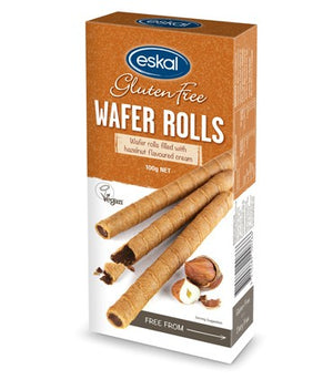 Eskal Wafer Rolls - Hazelnut Cream 120g