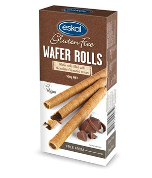 Eskal Wafer Rolls - Chocolate 120g