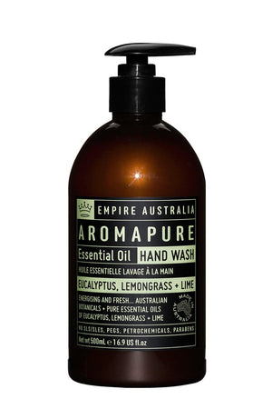 Aromapure Hand Wash - Eucalyptus, Lemongrass & Lime 500ml