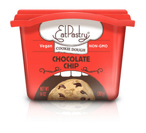 Eat Pastry Chocolate Chip Cookie Dough 397g (cold)