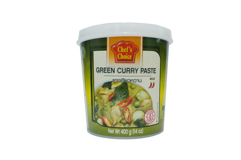 Chefs Choice Green Curry Paste 400g