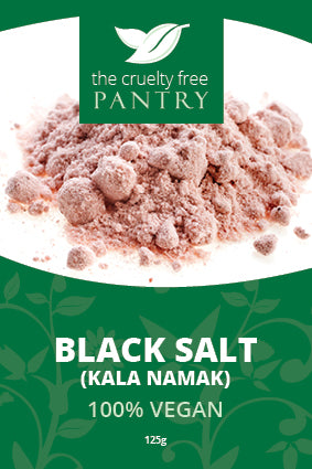 Cruelty Free Pantry Black Salt 125g