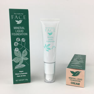 Cruelty Free FACE Liquid Foundation - Cream (8)