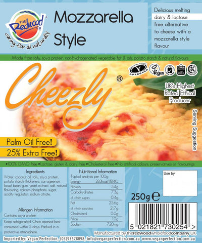 Cheezly Super-Melting Mozzarella (cold)
