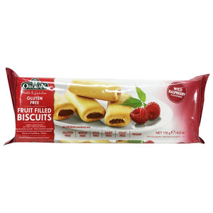 Orgran Wild Raspberry Fruit Filled Biscuits