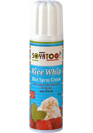 Soyatoo Spray Rice Whipped Cream