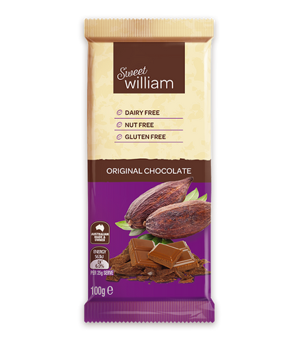 Sweet William Original Chocolate Block