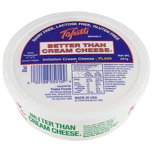 Tofutti Better Than Cream Cheese - Original (cold)