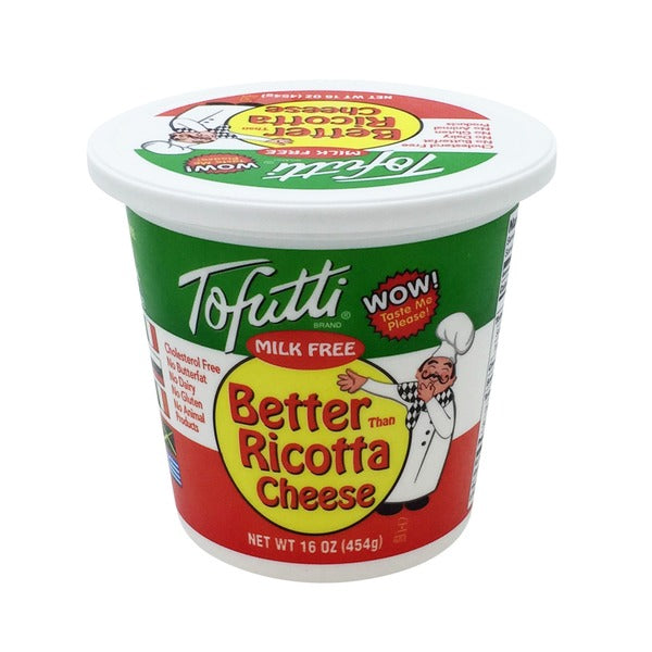 Tofutti Better Than Ricotta Cheese Cold The Cruelty Free Shop