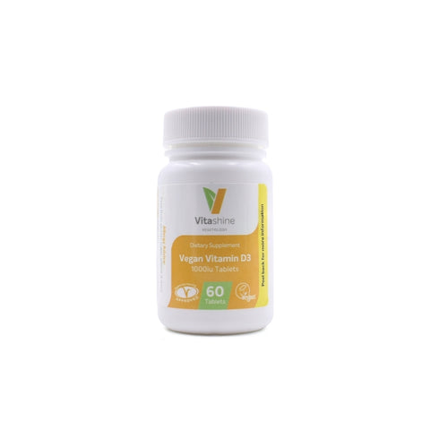 Vitashine Vegan Vitamin D3 Tablets 1000iu