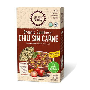 Organic Sunflower Chilli Sin Carne 131g