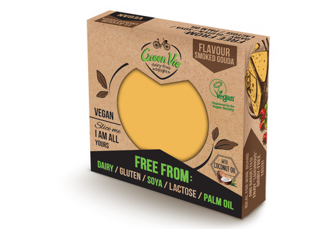 Green Vie Smoked Gouda Cheese Block 250g (cold)
