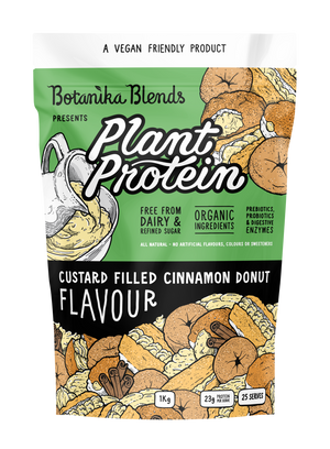 Botanika Blends Plant Protein - Custard Filled Cinnamon Donut 1kg