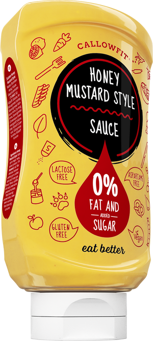 Callowfit Honey Mustard Style Sauce 300ml