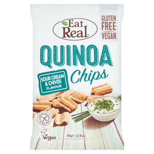 Eat Real Quinoa Chips - Sour Cream & Chives 80g
