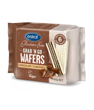 Eskal Grab n Go Wafers - Chocolate 60g