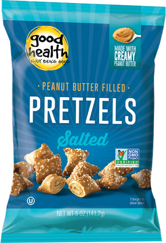 Good Health Peanut Butter Pretzels 142g