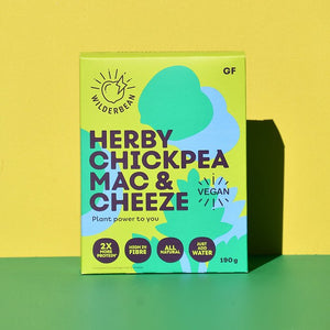 Wilderbean Chickpea Mac & Cheese - Herby 190g