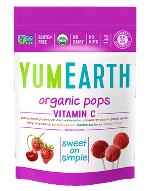 Yum Earth Vitamin C Lollipops 85g
