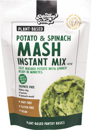 Plantasy Potato & Spinach Instant Mash Mix 150g