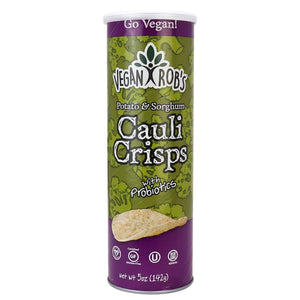 Vegan Robs Cauli Crisps in a Tube 142g