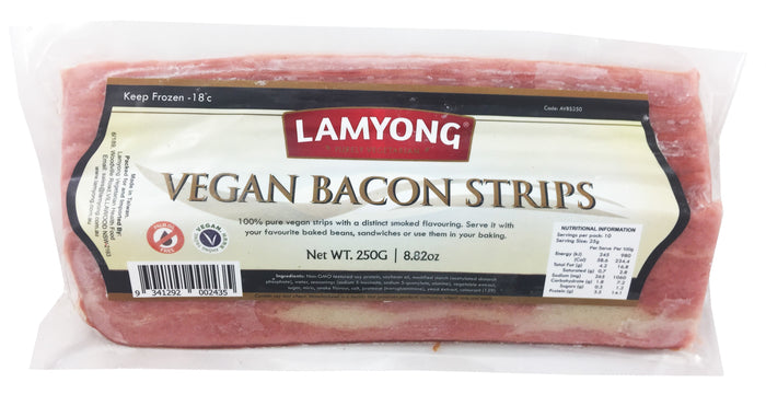 Lamyong Vegan Bacon Strips 250g (cold)