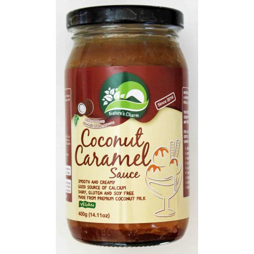 Natures Charm Coconut Caramel Sauce 400g