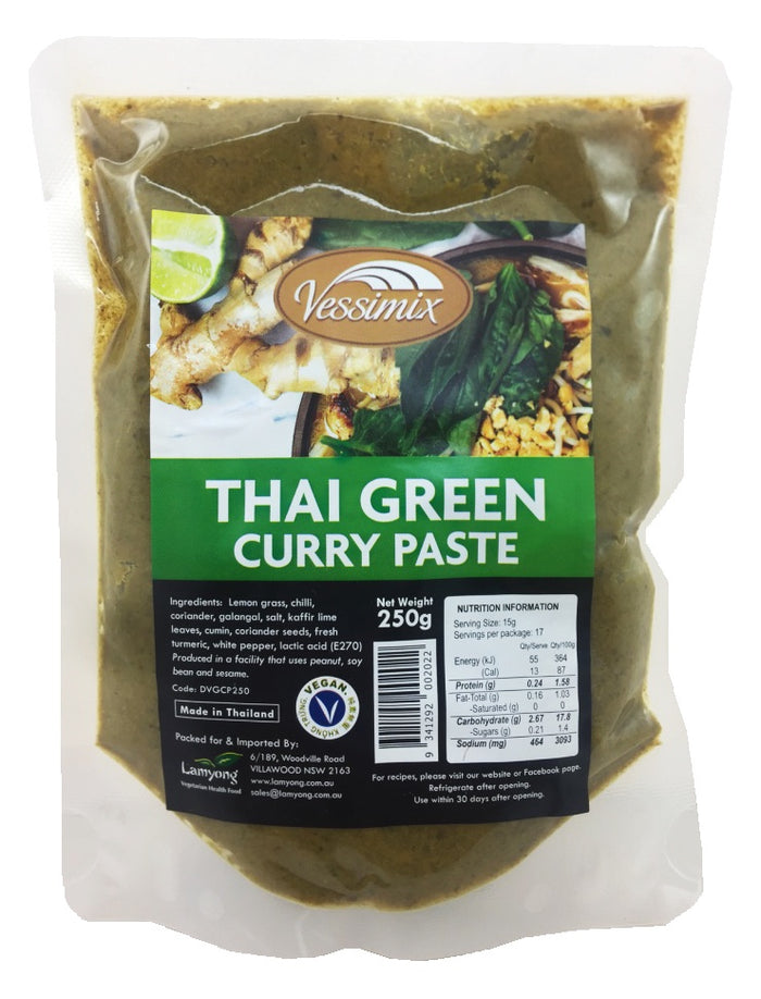 Vessimix Thai Green Curry Paste 250g