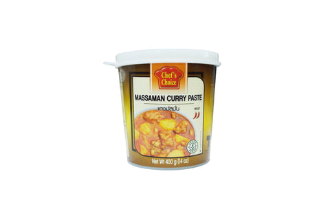Chefs Choice Massaman Curry Paste 400g