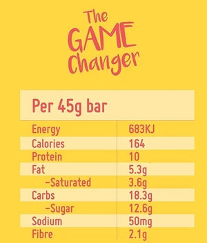 Macro Mike Game Changer Protein Bar 45g
