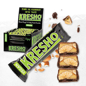 Kresho Almond Nougat Chocolate Bar 45g