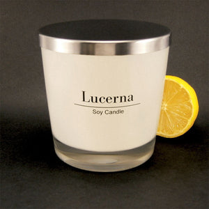 Lucerna Large Lemon Syrup Biscotti Candle