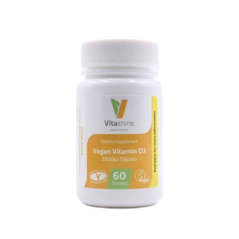 Vitashine Vegan Vitamin D3 Tablets 2500iu