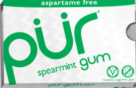 Pur Chewing Gum - Spearmint