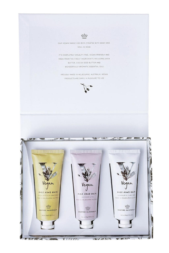 Empire Vegan Hand Cream Trio 3 x 85g