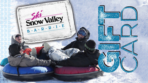 $100 Snow Valley Gift Card