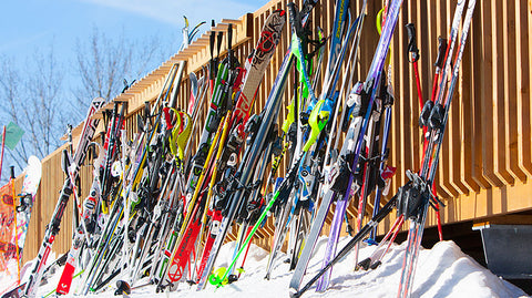 8 Skis, Boots & Poles Pack