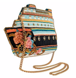 Cruise Control Beaded Cruise Ship Crossbody Handbag